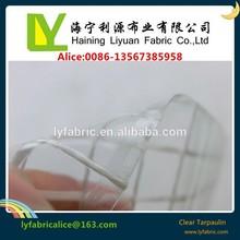 Pvc transparent mesh bâche pour rideau de douche
