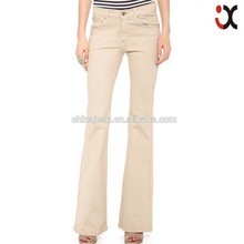 2015 New arrival women flares pants high waist wide leg butt Lift jean boot cut jeans JXQ318