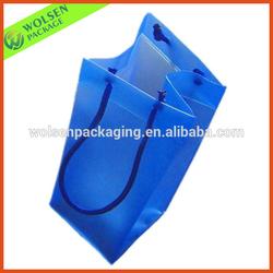 2015 wholesale PVC bag/ promotion PVC wine bag/ PVC wine cooler plastic bag