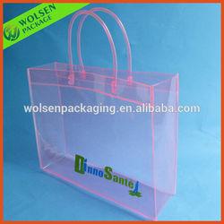2014 PVC bag/Transparent pvc clutch bag /PVC handle bag for promotion