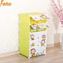 Large room historieta de la alta calidad de la puerta gabinete de almacenaje del zapato para habitaciones de niños ( FH-AW01056-5 )