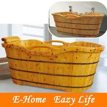 wood freestanding bathtubs