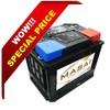 high quality sealed MF car batteries made in Korea 12v68ah car battery wholesale