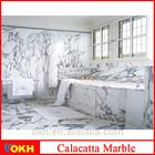 Chinese Calacatta White Marble price