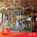 China equipamentos de diversões fábrica, parque de atrações crianças carrossel musical para venda