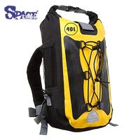 40L 500D tarpaulin PVC waterproof backpack,dry bag,outdoor sport bag