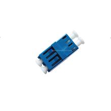 SM Fiber Optic LC UPC DX Blue Non-flange Adapter