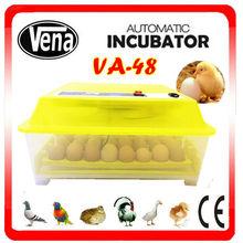 mini incubator VA-48 farm machine elegant shape incubator control system
