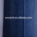9.7oz azul oscuro de algodón viscosa de poliéster spandex tela de mezclilla
