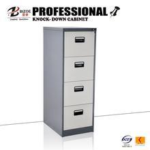 luoyang BIZOE 4 drawers white steel multi bathroom storage cabinet
