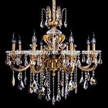 Design custom-made hotel gold crystal chandelier