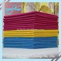 Quatro cores suaves de microfibra tecido de toalha
