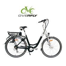 250W Brushless Front Motor Electric Bike/2014 Lady E-Bike XY-EB001B Woman with CE/EN15194