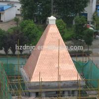alsphalt copper roofing shingle