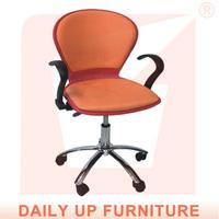 Boss Arm Task Chair Chrome Base Office Chair Cushion Revolving Chair Conference Room