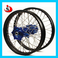 Motocycle 36 Stainless Steel Spokes CNC Hub Aluminum Alloy Wheels For YZ125 Dirt Bike