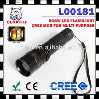 waterproof Cree MC-E led flashlight