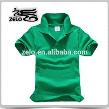 customed polyester cotton polo shirt for men