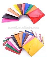 Envelope Clutch bag Candy Colors Lady Women Shoulder Handbag Wristlet Bag