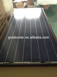 Black solar pv modules!150 watts poly crystalline solar panel mainly send to Australia,Mexico,Russia.Nigeria,Dubai etc...