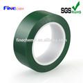 iso9001 fábrica claro pet cinta con adhesivo de silicona