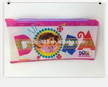 soft plastic girls pencil case