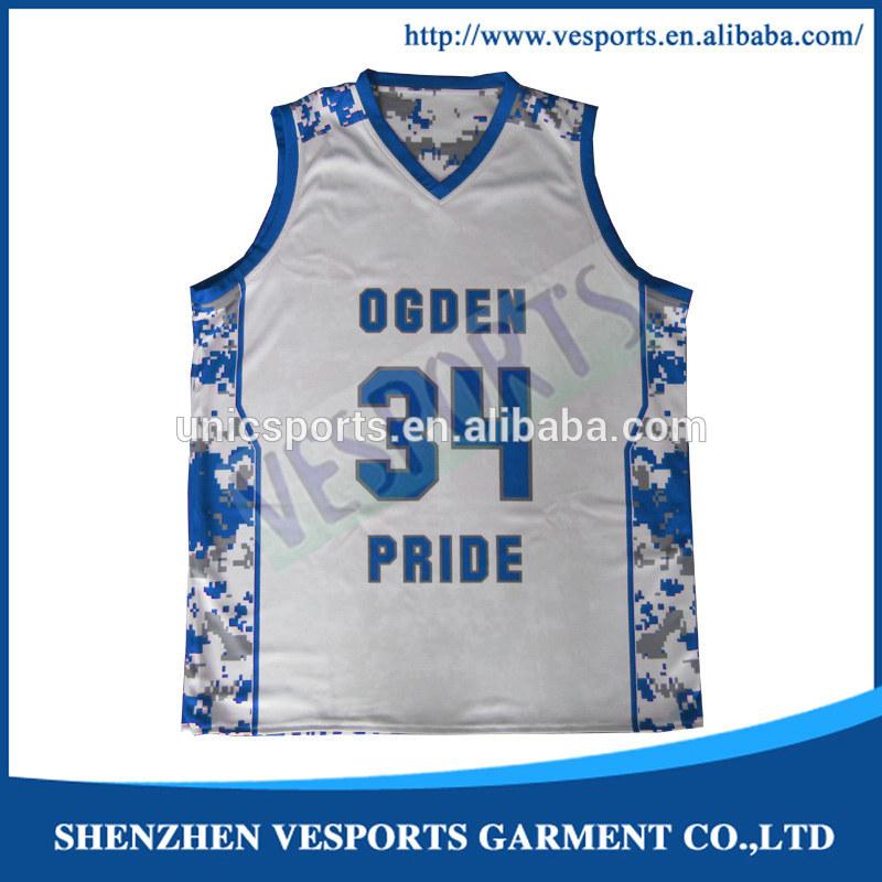 großhandel leer basketball uniformen custom design- Basketball