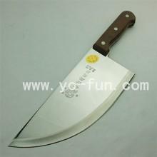 GJH005 Denmark wooden handle 3 rivets stainless steel kitchen knife