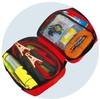 Wholesale winter car emergency kit/roadside emergency survival kit