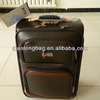 2014 New fasion PU luggage Travel trolley suitcase Travelware bag Men and women Outing case