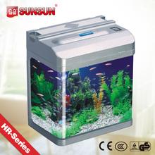 SUNSUN aquarium round acrylic fishing tank / acrylic aquarium for sale