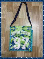 2014 kids love design pp lamination custom woven school bag