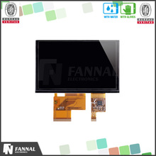 "5 inch tft lcd touch screen brightness 315cd/m2 800x480 5"" tft lcd touch screen"