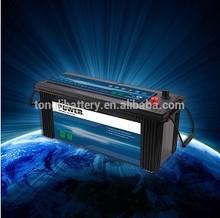 hot sale 12volt 120ah JIS standard heavy duty lead acid maintenance free automotive batteries with best price
