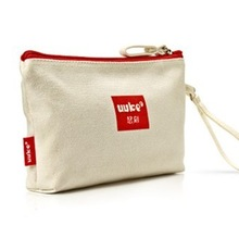 2014 Excellent designed canvas cosmetic pouch