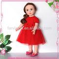 2014 moda trocar de roupa de boneca, Vinil roupas boneca para a menina