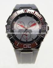 2014 hot sale fashion vogue PU wistband alloy quartz wrist watch ,Japan movt quartz watch stainless steel back