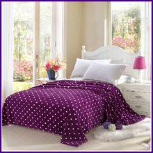 100% polyester Polar fleece bed sheets