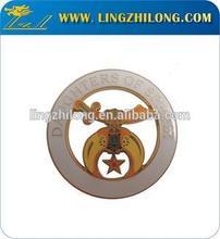 High Quality Freemason Car Logo Badge Masonic Sword