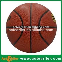 pu laminated custom made basketball