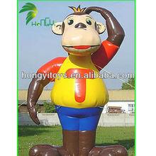 Gungzhou Qute and Good Quality inflatable monkey