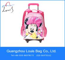 hello kitty school bag,kids school bag with wheels for girls