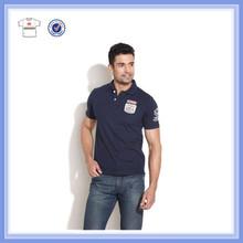 2015 New arrival mens single jersey polo shirt,cotton polo shirt garment