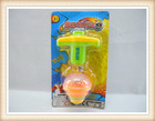 Plastic spinning top toy