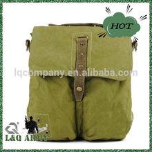 2014 New Style Canvas Bags Plain Backpack Cotton Vintage Canvas Bag