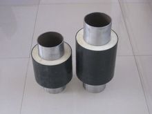 waterproof polyurethane foam insulated steel pipe insulation material for chilled water supply