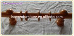 Popular good design wooden curtain pole