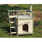 HOT! Classic Waterproof Wooden cat house