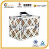 lattice cosmetic case /make up case, beauty case,train coametic case