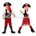 carino bambini partito pirata costume cosplay di halloween per bambini per il ragazzo